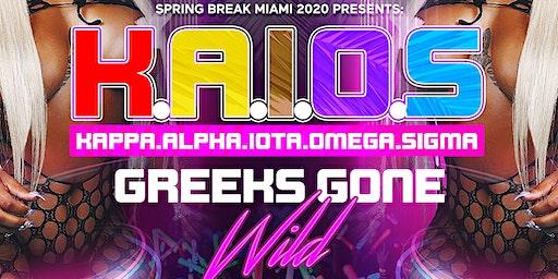 K.A.I.O.S - Biggest Greeks Party in Miami