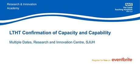 LTHT Confirmation of Capacity and Capability tickets