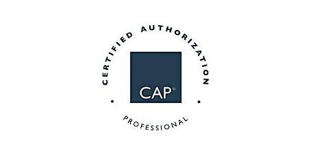 Fairfax, VA | Certified Authorization Professional (CAP), Includes Exam  tickets