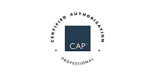 Fairfax, VA | Certified Authorization Professional (CAP), Includes Exam