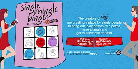 Single Mingle Bingo: Ages 30 - 40 tickets