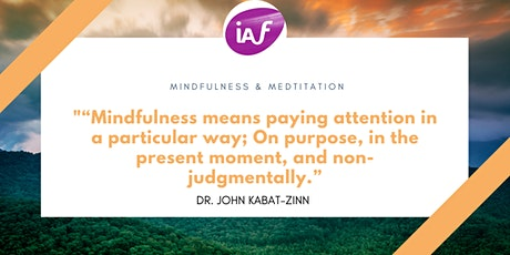IAF SG Connect: Mindfulness & Facilitation: The Being of the Facilitator tickets