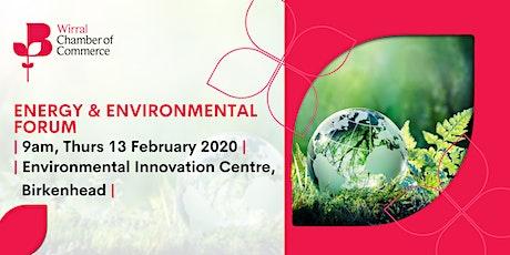 Energy & Environmental Forum tickets