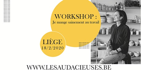 Workshop: Je mange sainement au travail billets