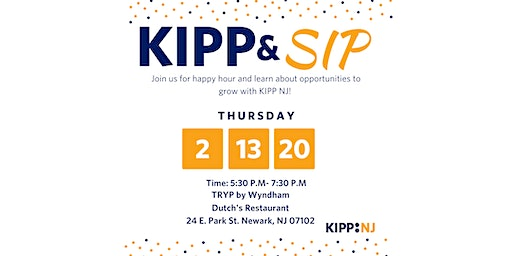 KIPP New Jersey-Newark Recruitment Networking Event