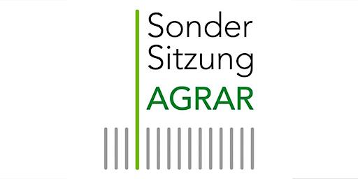 Sondersitzung AGRAR: Künstliche Intelligenz