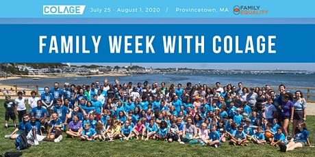 Virtual Family Week 2020 with COLAGE tickets
