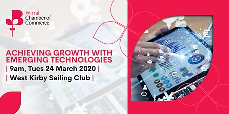 Achieving Growth with Emerging Technologies tickets