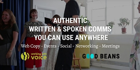 Communicating authentically on and offline for purpose-driven businesses tickets