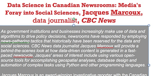 Data Science in Canadian Newsrooms, UofW, 1L07, JAN 29 2020