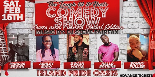 (BWMEG) presents Winter Escape Weekend  Comedy Show and DJ @ Island Pride!