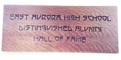 East Aurora High School Distinguished Alumni Hall of Fame Induction Ceremony