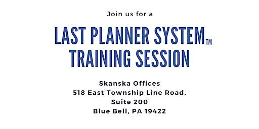 Last Planner System™ Training Session
