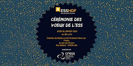 Cérémonie des vœux de l'ESS 2020 tickets