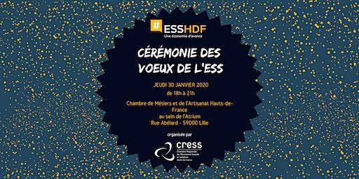 Cérémonie des vœux de l'ESS 2020