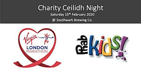 London Marathon Charity Ceilidh tickets