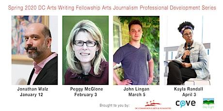 Arts Journalism Professional Development Series: Peggy McGlone tickets