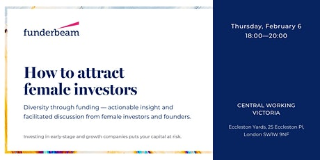 How to attract female investors: Diversity through funding tickets