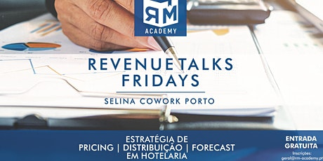 Revenue Talks Fridays bilhetes