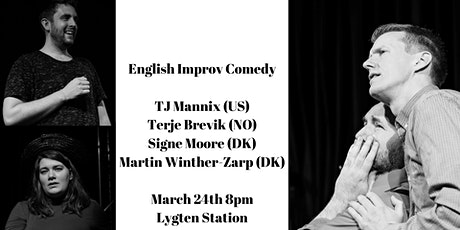 English Improv Comedy Show tickets