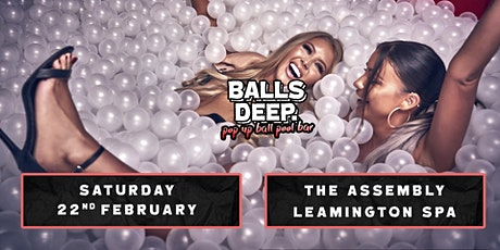 Pop Up Ball-Pool Bar Comes to Leamington Spa! tickets
