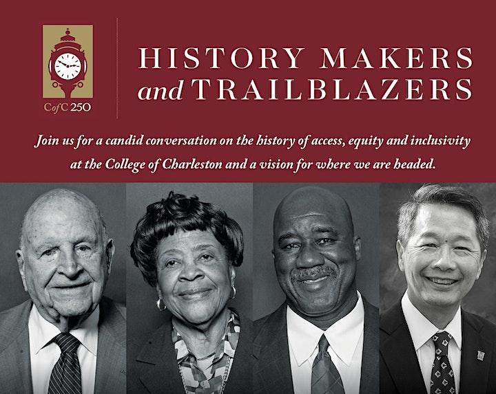 College of Charleston 250th: History Makers & Trailblazers image