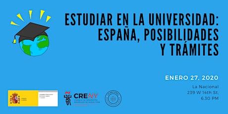 Charla de la Consejería de Educación de España en Estados Unidos y Canadá, Agregaduría de Educación en Nueva York – Consulado General de España en NY entradas