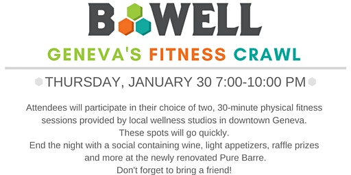 Geneva's B-Well Fitness Crawl