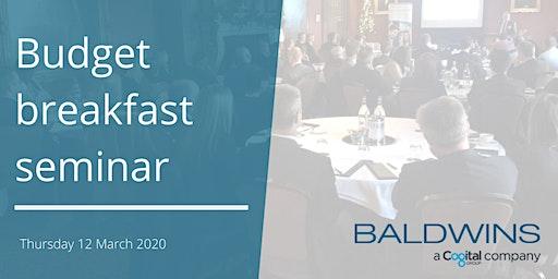 Budget 2020 breakfast seminar