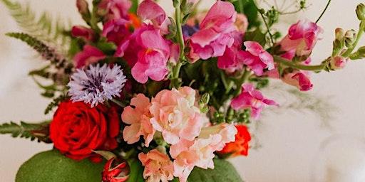 Galentine's Day Hand-Tied Flower Bouquet Workshop