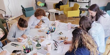 Handlettering Workshop für Anfänger in München tickets