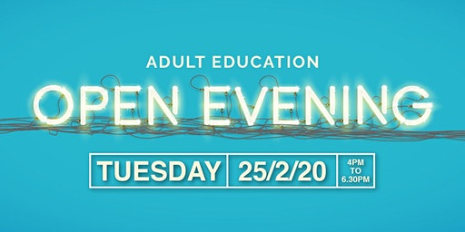 Adult open evening - discover courses and apprenticeship opportunities