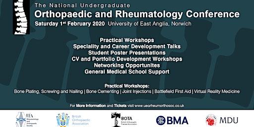 The National Undergraduate Orthopaedic and Rheumatology Conference 2020