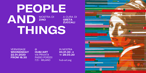 "Opening mostra ""People and Things"" di Zino"