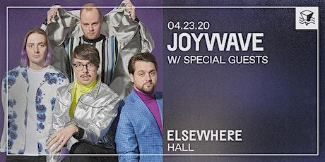 Joywave - The Possession Tour - @ Elsewhere (Hall) tickets