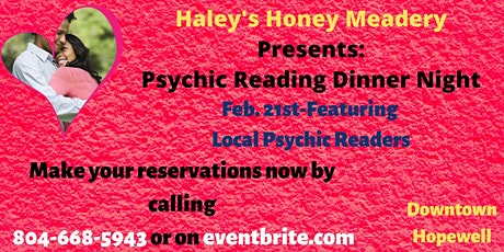Psychic Reading Dinner Night tickets