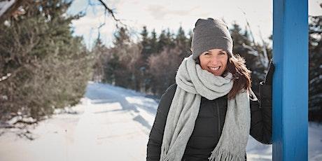 Randonnée hivernale avec Geneviève O'Gleman X Sépaq billets