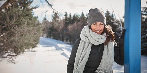 Randonnée hivernale avec Geneviève O'Gleman X Sépaq
