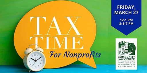 Tax Time For Nonprofits! 2020 Edition
