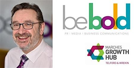 PR Masterclass with BeBold Media  tickets