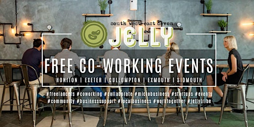 JELLY SOUTH WEST / ESSENCE OF EXETER COLLABORATION | CO-WORKING EVENT | EXETER
