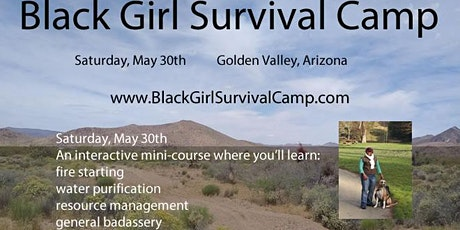 Black Girl Survival Camps - Mini Course May tickets