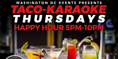 Tacos & Karaoke Happy Hour tickets