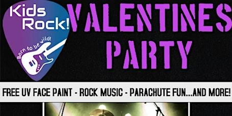 Kids Rock! Valentine's party