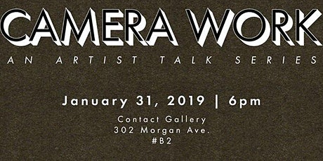 Camera Work with Aaron Berger. An Artist Talk Series from NYCSPC tickets