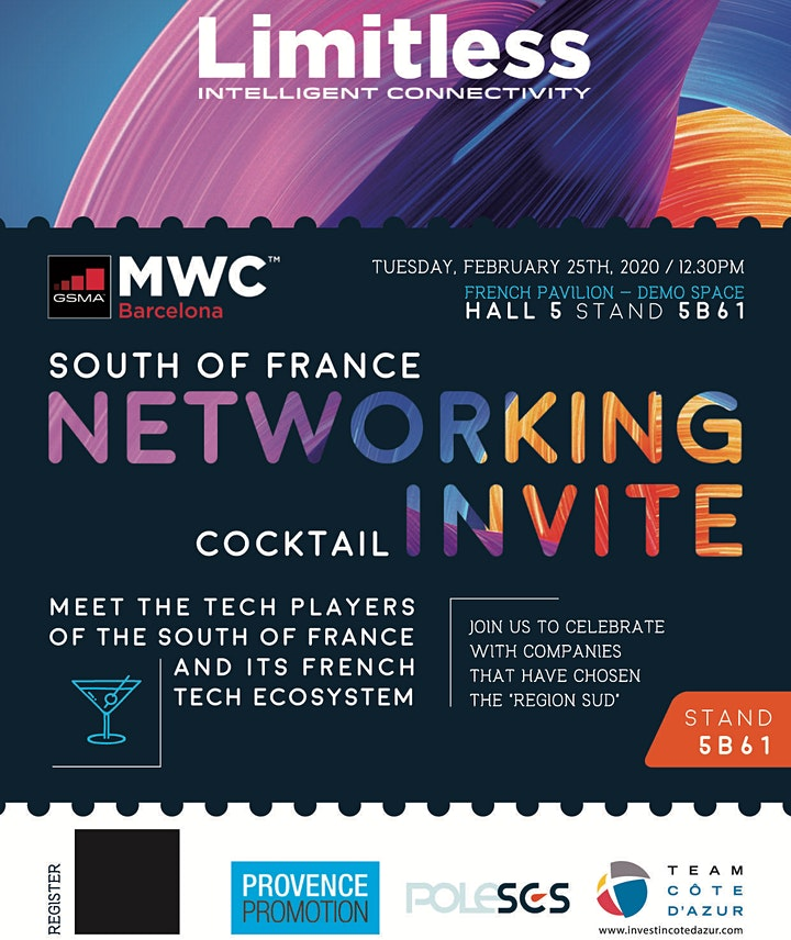 CANCELLED : South of France networking cocktail image