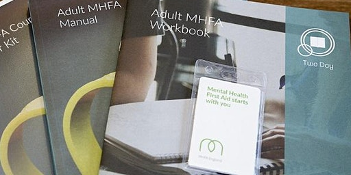 Adult Mental Health First Aid (2-day -  MHFA England accredited course)