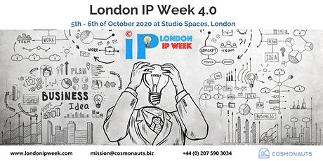 London IP Week 4.0 tickets