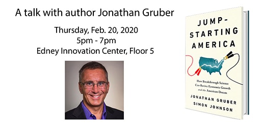 Jump-starting America: A book talk with Jonathan Gruber