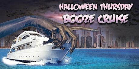 Halloween Thursday Booze Cruise tickets